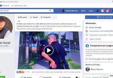 """MUJER RECONOCE A SU VIOLADOR EN EL FACEBOOK DE """"REVOLUCIÓN SOCIAL"""""""