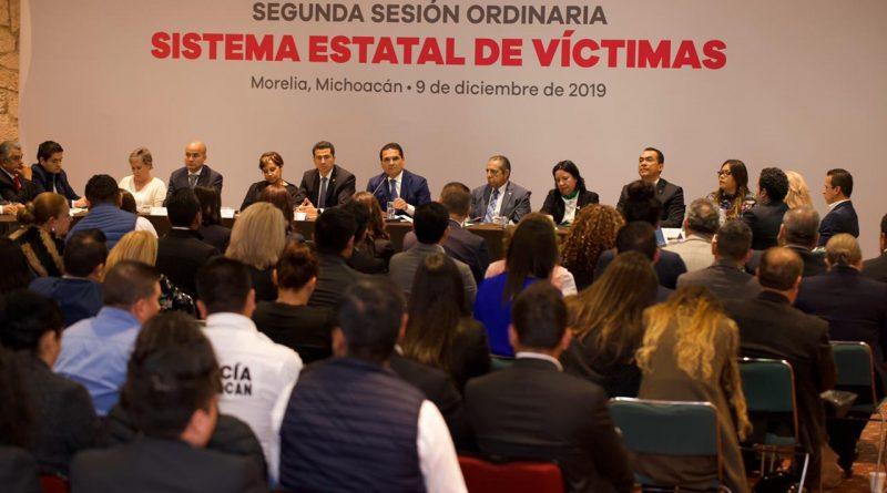 FORTALECIDA, RUTA DE ATENCIÓN Y PROTECCIÓN A VÍCTIMAS EN MICHOACÁN